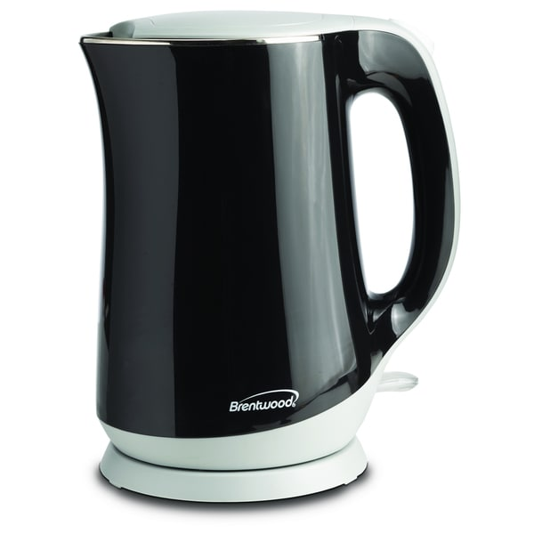 Brentwood KT-2017BK Black Cool Touch 1.7-liter Electric Kettle