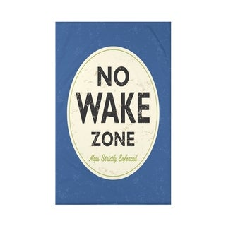 Nap Zone Word Print 50x60-inch Throw Blanket