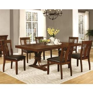 Oxford Transitional Mission Style Dining Set
