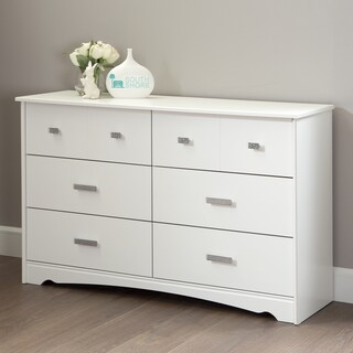 South Shore Tiara 6-Drawer Double Dresser