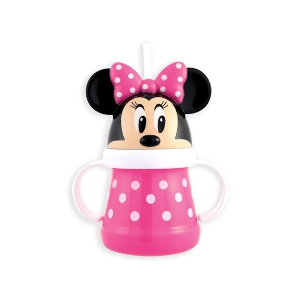Sassy Minnie 10-ounce Straw Character Cup 16732541