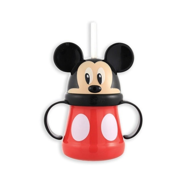 Sassy Mickey 10-ounce Straw Character Cup 16732542