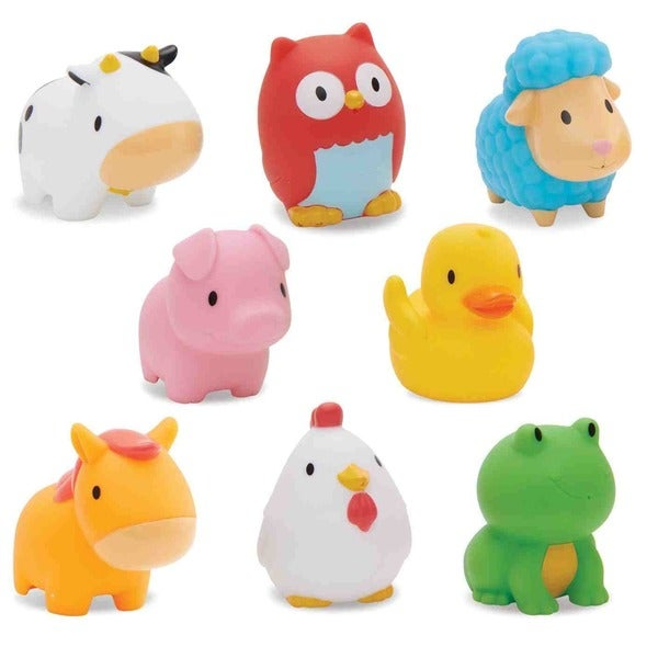Munchkin Squirtin' Barnyard Friends (Pack of 8) 16732613