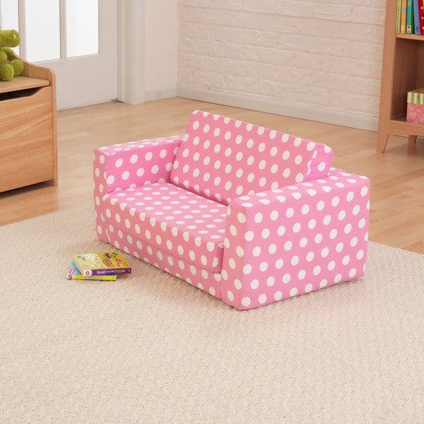 Pink Polka Dot Lil' Lounger