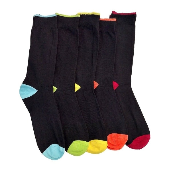 Beverly Hills Polo Club Men's Trouser Socks 5-Pack