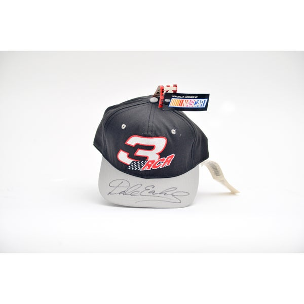 Dale Earndhart Nascar #3 Signed Baseball Hat