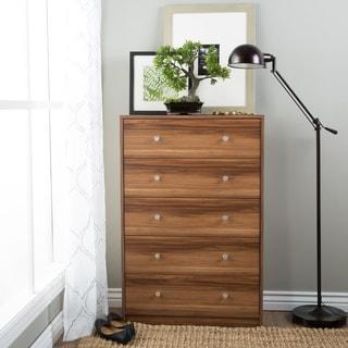 Portland Five-drawer Chestnut Chest