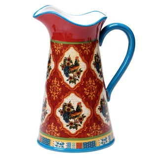 Certified International - French Country Pitcher 2.75 quart