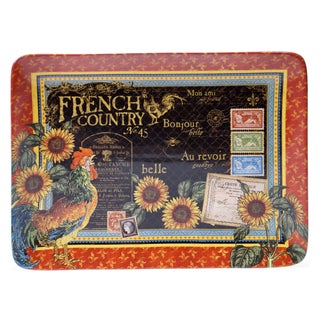 "Certified International - French Country Rectangular Platter 16"" x 12"""