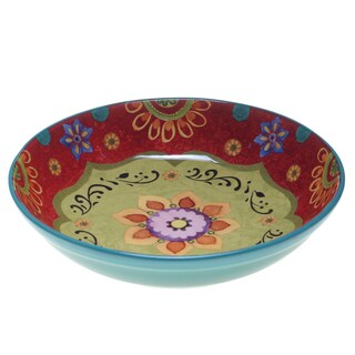"Certified International - Tunisian Sunset Serving/Pasta Bowl 13.25"" x 3"""