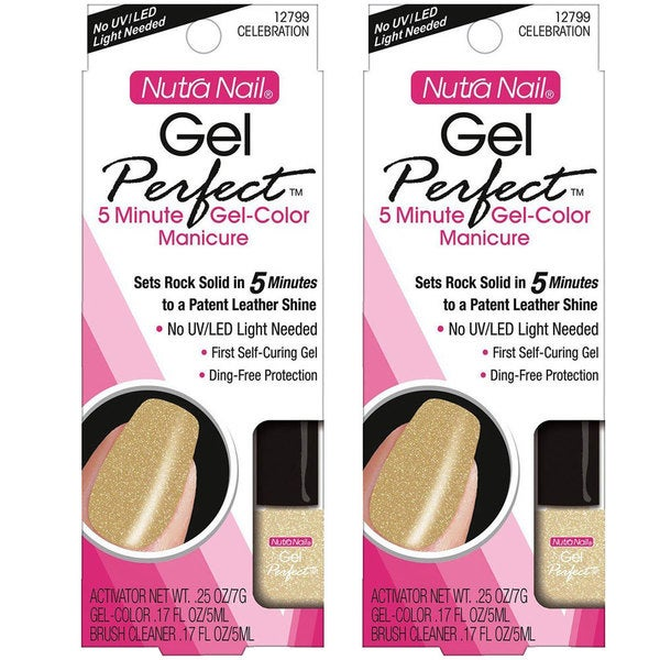 Nutra Nail 12799 Celebration Perfect Color (Pack of 2)