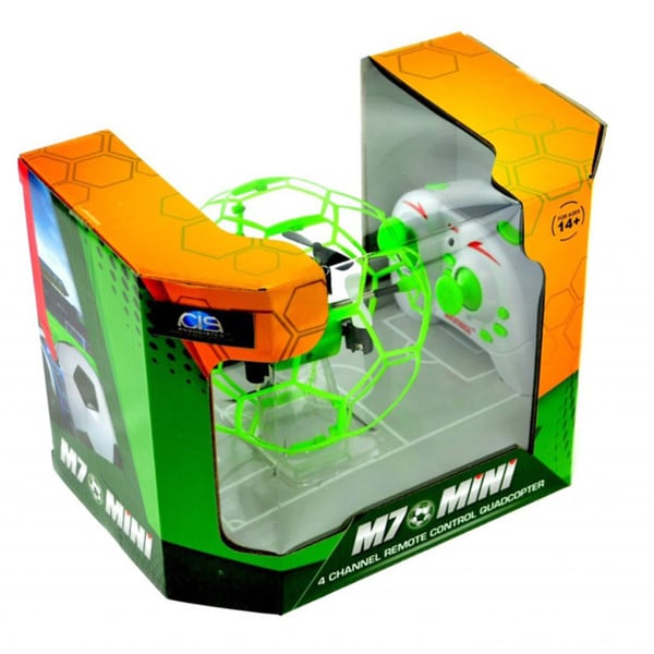 CIS M70 Green Small Quadcopter in Cage