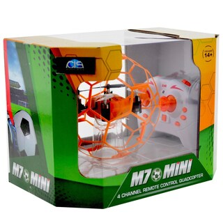 CIS M70 Orange Small Quadcopter in Cage