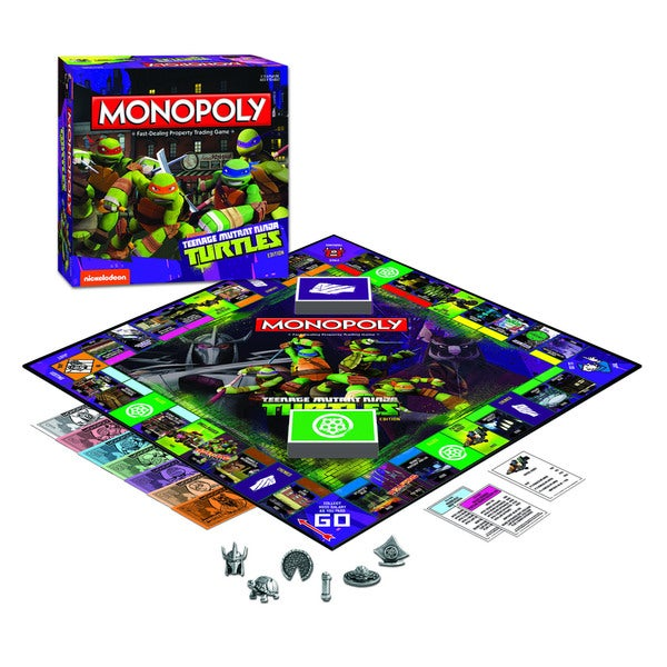 USAopoly Teenage Mutant Ninja Turtles Edition