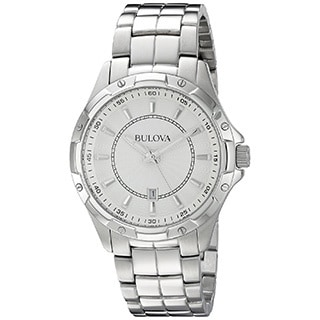 Bulova Men's 96B147 'Classic' Stainless Steel Watch