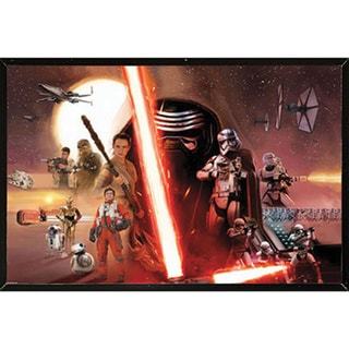 Star Wars Episode VII: The Force Awakens Wall Plaque (22 x 34)