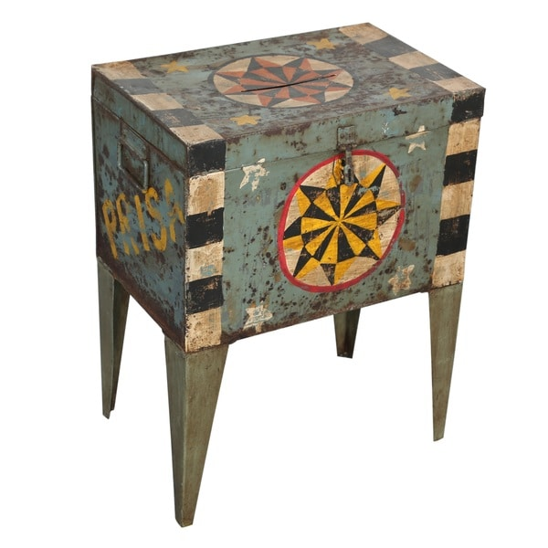 Industrial Painted Ballot Box (India)