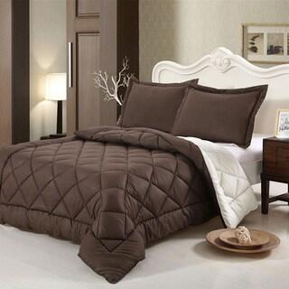 Down-alternative Reversible 2-piece Comforter Set (Twin)
