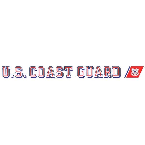 U.S. Coast Guard Car Decal featuring USCG emblem 16736234