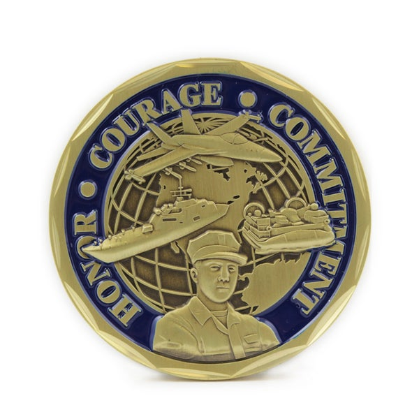 Armor of God Commemorative Coin for Sailors