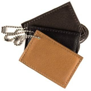 Piel Leather Rectangle Bag Tag