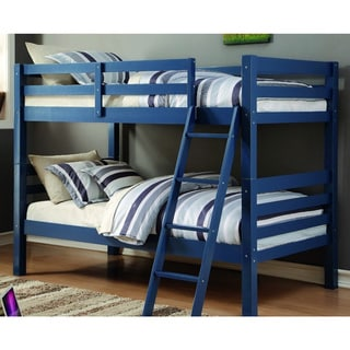 Donco Kids Liberty Federal Blue Twin Over Twin Bunk Bed