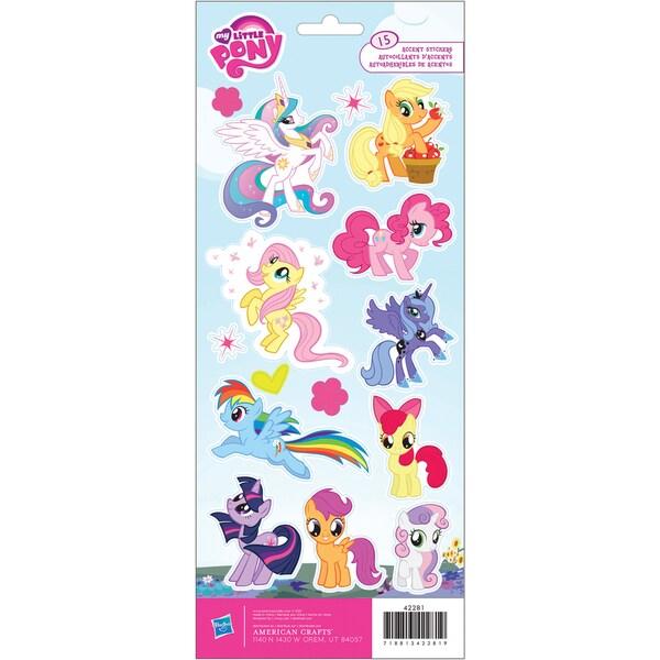 "Cardstock Stickers 4.75""X12"" Sheet-My Little Pony"