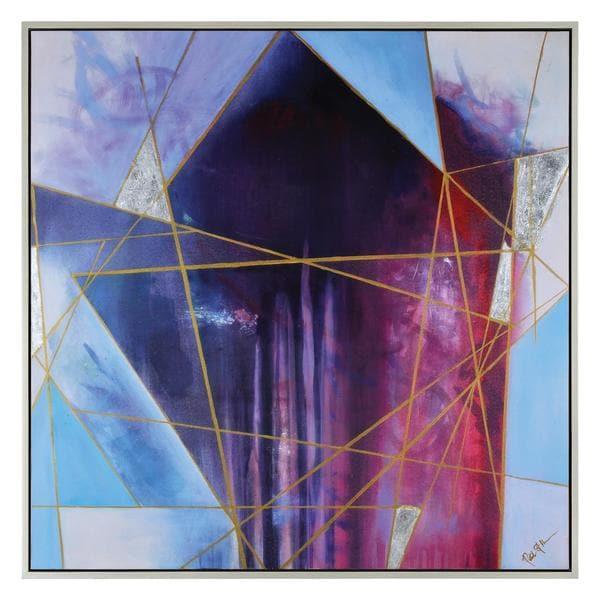 Bound Darkness Framed Canvas Art