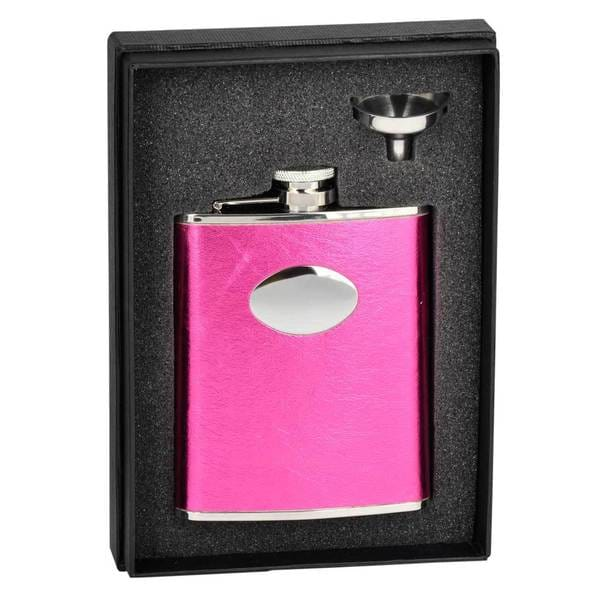 Visol Lydia Hot Pink Essential Flask Gift Set - 6 ounces 16737058