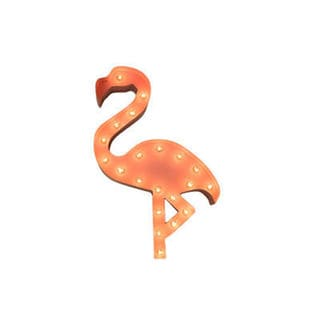 Iconics Indoor/ Outdoor 2-foot Pink Flamingo Marquee Light