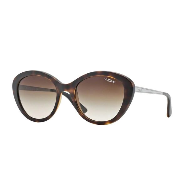 Vogue Women's VO2870S Tortoise Plastic Cat Eye Sunglasses