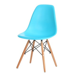 Eames Inspired Plastic Molded Side Chair