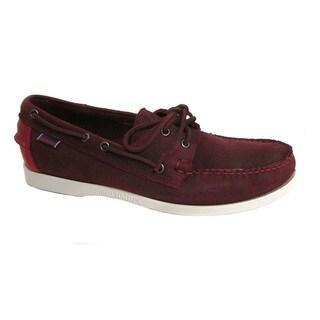 Sebago Men's Spinnaker Merlot/ Red Boat Shoe