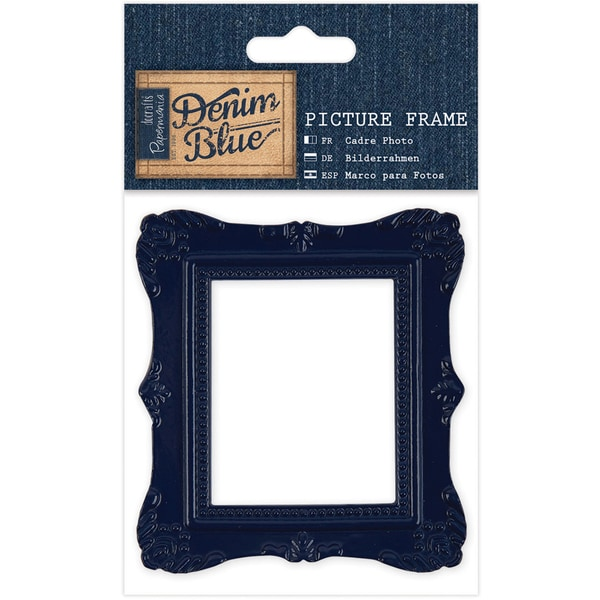 Papermania Denim Blue Picture Frame