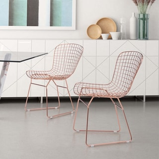 Zuo Wire Dining Chair (Set of 2)