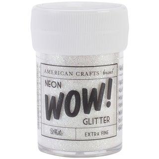 WOW! Extra Fine Glitter 1oz-Neon White