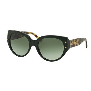 Tory Burch Women's TY7083 Olive Plastic Cat Eye Sunglasses