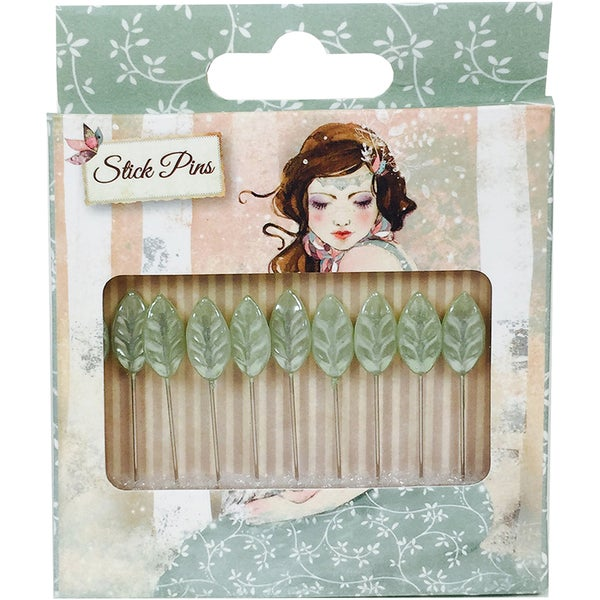 Santoro Willow Decorative Stick Pins 10/Pkg