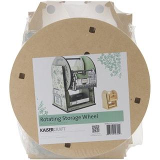 Beyond The Page MDF Rotating Storage Wheel-11inX13.75inX10in