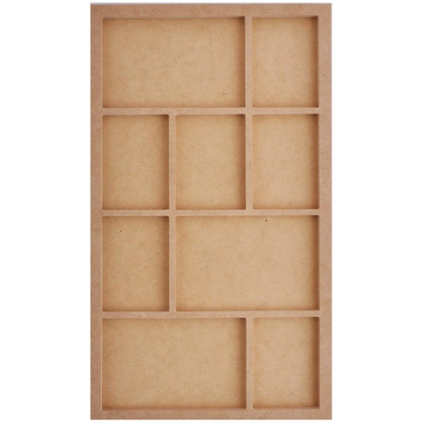 Beyond The Page MDF Long Photo Display-9.5inX16.5inX.5in
