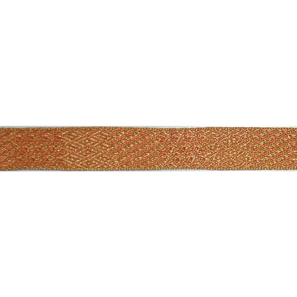 "Ruban Nubian Ribbon 5/8""X27 Yards-Orange Multi"