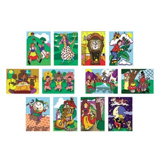 Melissa and Doug Fairy Tales and Nursery Rhymes 12-Puzzle Set