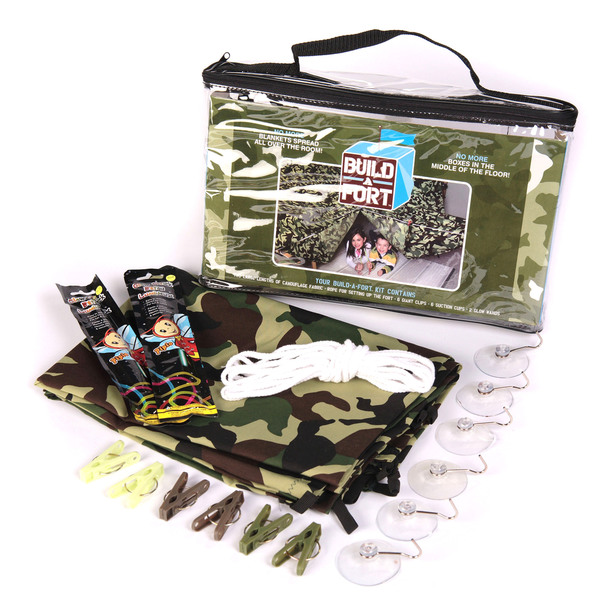 Be Amazing Toys Green Camouflage Build-a-Fort