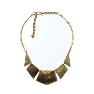 Brass Dorado Necklace (Kenya)