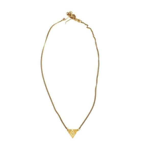 Brass Makena Necklace (Kenya)