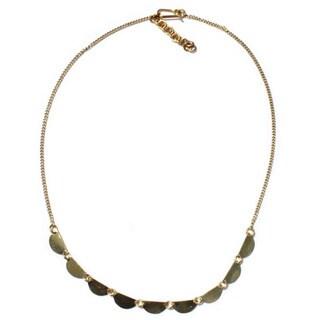 Brass Stevie Necklace (Kenya)