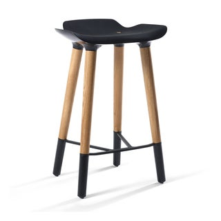 Unfinshed Solid Parawood X Back Stool 16555010