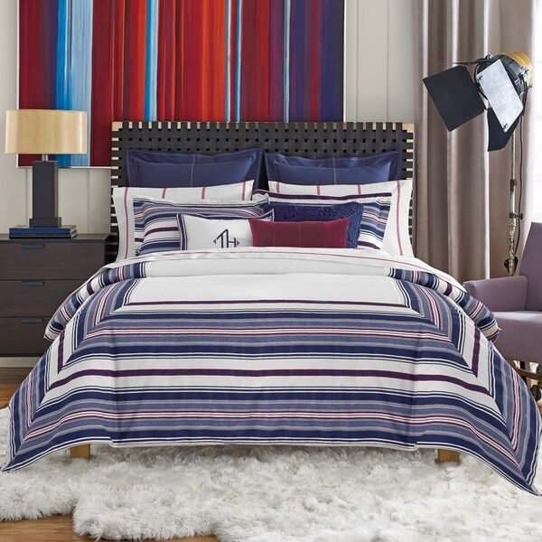Tommy Hilfiger Sutton Stripe Cotton Duvet Set