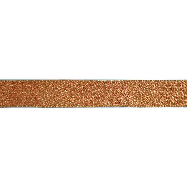 "Ruban Nubian Ribbon 5/8""X3.28 Yards-Orange Multi"