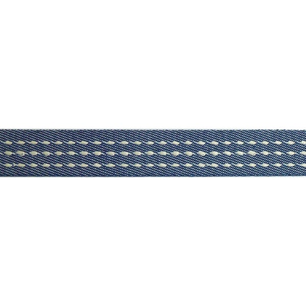 "Ruban Explorateur Ribbon 5/8""X3.28 Yards-Navy/White"